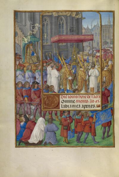 Master of James IV of Scotland, 'Procession for Corpus Christi', 1510-1520