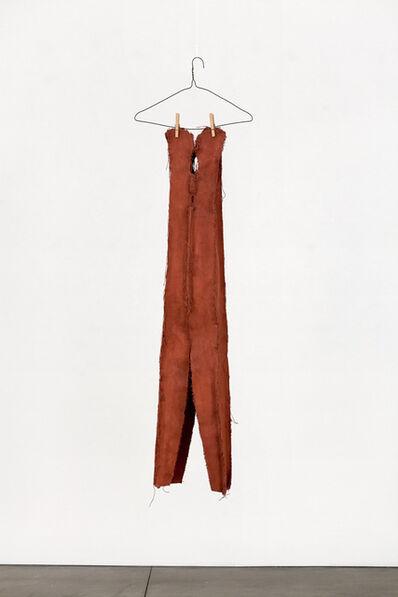 Claes Oldenburg, 'Clothespin - 4 Ft. - (Soft Version)', 1975