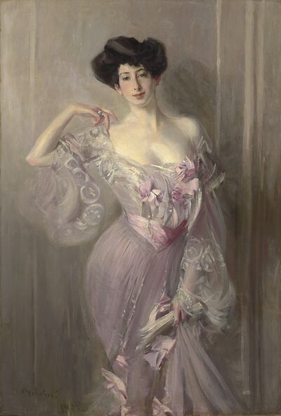 Giovanni Boldini, 'Portrait of Betty Wertheimer', 1902