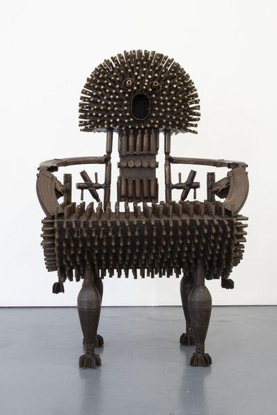Gonçalo Mabunda, 'The Toe Hunter's Throne', 2020