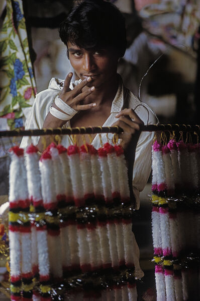 Cary Wolinsky, 'Indian Flower Boy', 1972