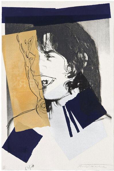Andy Warhol, 'Mick Jagger (FS II.142)', 1975
