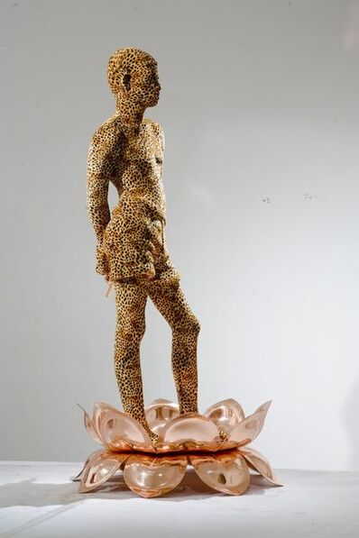 Valay Shende, 'Boy on Lotus', 2008