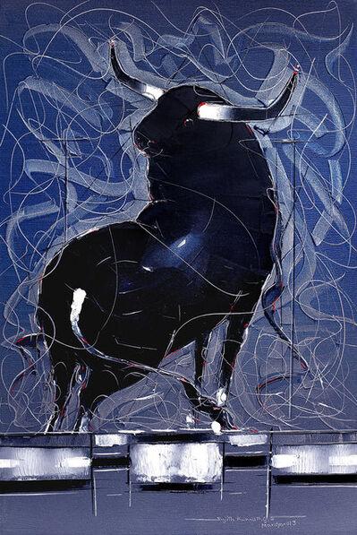 Sujth Kumar G.S. Mandya, 'Bull Painting - 83', 2011