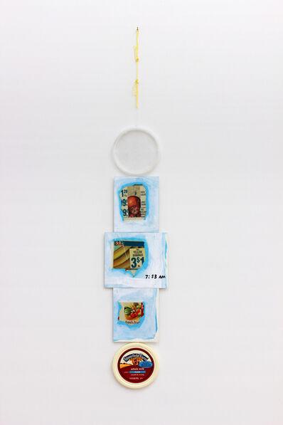 B. Wurtz, 'Untitled (vertical food collage #8)', 2006