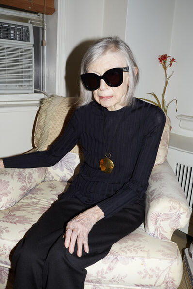 Juergen Teller, 'Joan Didion, Celine Campaign Spring Summer 2015, New York (Uncropped)', 2014