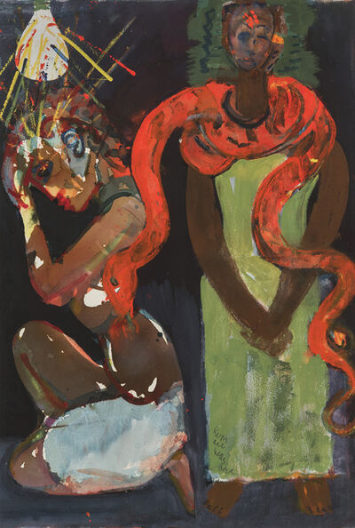 Romare Bearden, 'Marriage of the Viper (From the Rituals of the Obeah Series)', 1984
