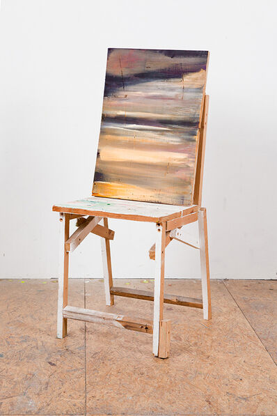 charlie jeffery, 'Landscape with chair', 2019