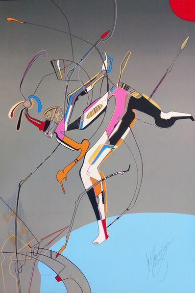 Mihail Chemiakin, 'RUNNER', 1988