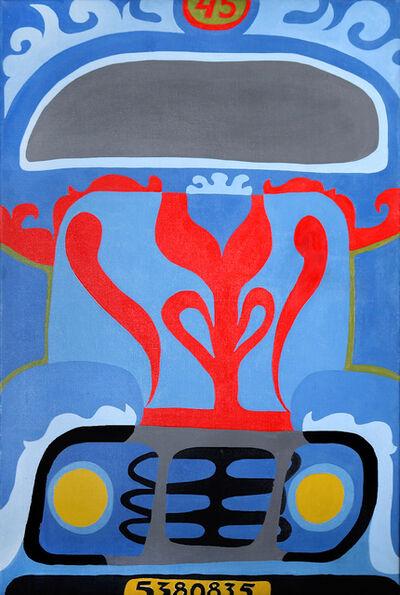 Nicolás García Uriburu, 'Colectivo 45', 1966