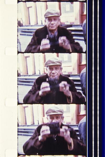 Jonas Mekas, 'Sam Fuller, 1977, NYC during the filming of MY AMERICAN FRIEND', 2013