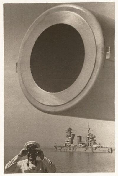 Yakov Khalip, 'On Guard (Large-Bore Cannon), Baltic Fleet', c. 1936