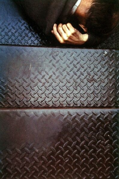 Saul Leiter, 'Tanager Stairs', 1954