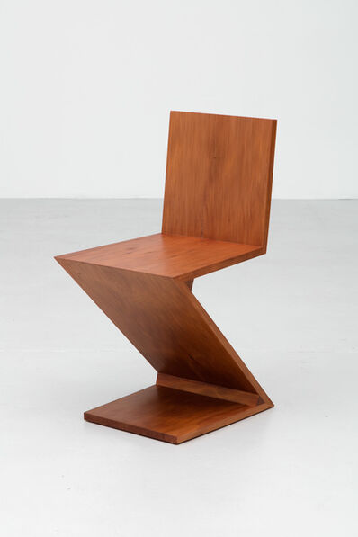 Simon Starling, 'A Zig-Zag Chair designed by Gerrit Rietveld in 1934 and reproduced using 45,910 year-old swamp kauri wood in 2015', 2015