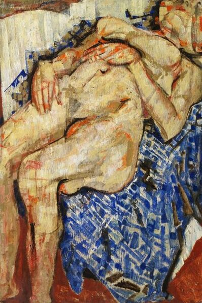 Fausto Pirandello, 'Nudo Lunatico, 1954'