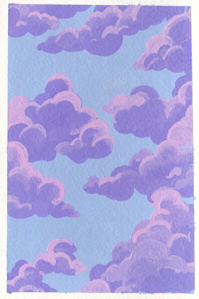 Donia, 'Cloudy in Purple', 2018