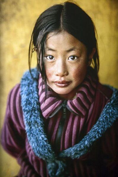 Steve McCurry, 'Tibetan Girl with New Coat', 2001