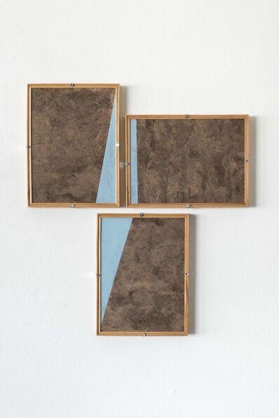 Dario Escobar, 'Composiciones Azules No.8', 2016
