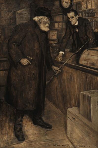 John Newton Howitt, 'The Shopper', 1909
