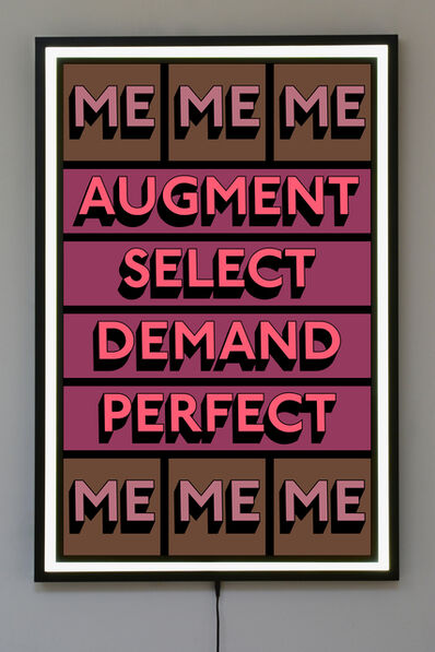 Tim Fishlock, 'AUGMENT ME', 2019