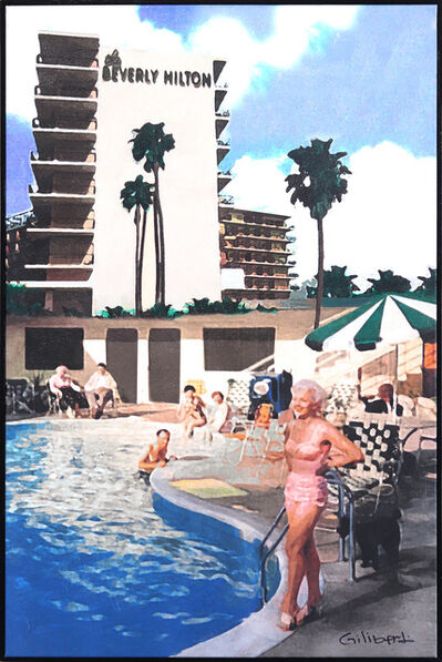 Michael Giliberti, 'Poolside at the Beverly Hilton', 2020