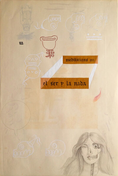 Enrique Chagoya, 'Ghostly Meditations (meditations on el ser y la nada)', 2012
