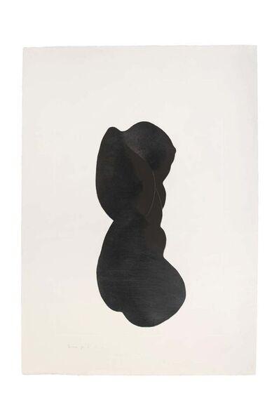 Giacomo Porzano, 'Silhouette V ', 1972