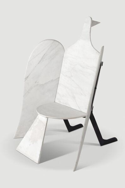 François-Xavier Lalanne, 'Oiseaux de Marbre Chair', 1974