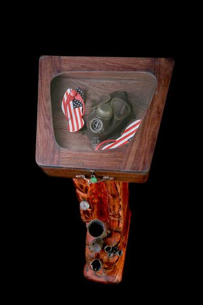 Dominique Zinkpè, 'Les démasqués des cinq continents, Amérique', 2007