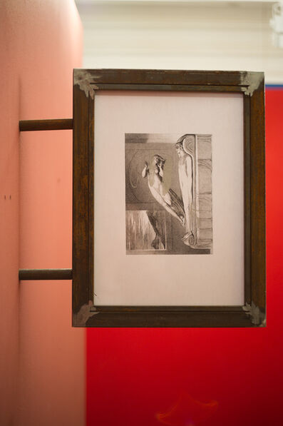 Anna Titova, 'Copy of an Engraving by William Blake in a Metal Frame Under Glass', 2013