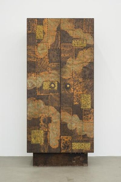 Paul Evans, 'Copper and Brass Sheets Vertical Cabinet', 1970