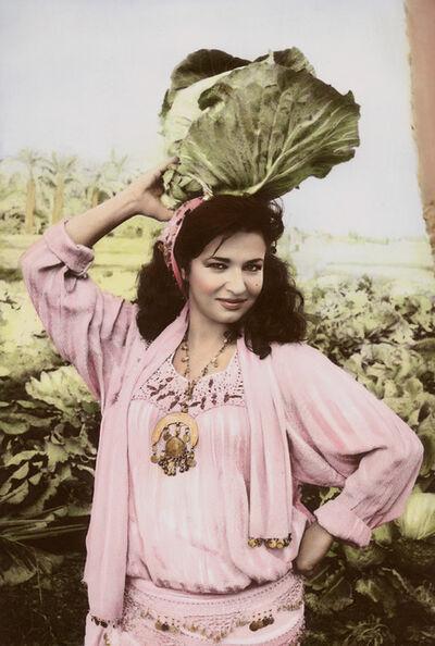 Youssef Nabil, 'Natacha & Cabbage, Cairo 2000', 2000