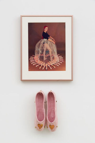 Rose English, 'Study for a Divertissement: Diana with crinoline and pointe shoes I', 1973
