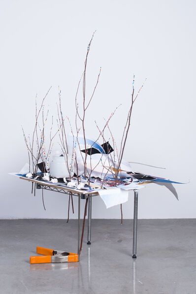 Sarah Sze, 'Side Table with Landscapes', 2015