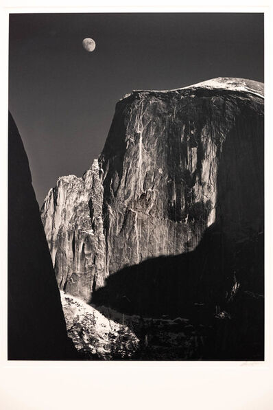 Ansel Adams, 'Moon and Half Dome', 1960