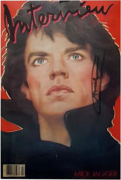 Andy Warhol, 'Interview Magazine (Mick Jagger Cover)', February 1985