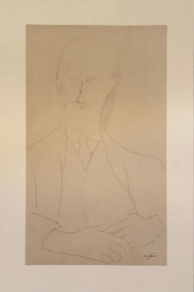 Amedeo Modigliani, 'Portrait de Roger Dutilleul', 1959