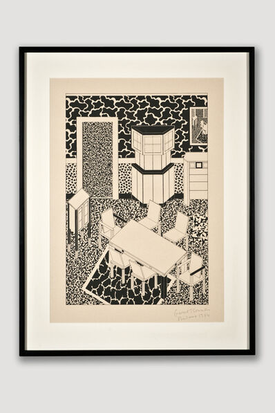 George Sowden, 'Interior 3 (Limited Edition Silkscreen)', 1984