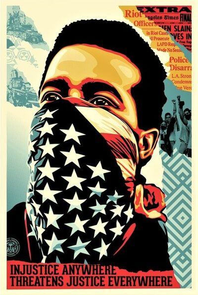 Shepard Fairey, 'American Rage (Black Lives Matter)', 2020