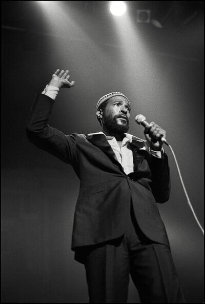 David Corio, 'Marvin Gaye, Royal Albert Hall, London, UK', 1979