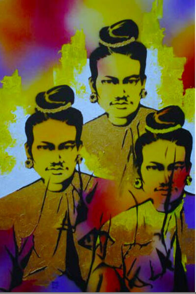 Wunna Aung, 'King Thibaw', 2014