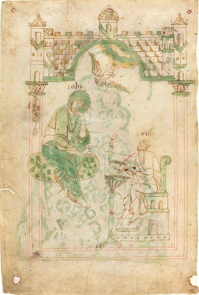 'Saint John Dictating to the Venerable Bede', ca. 1140