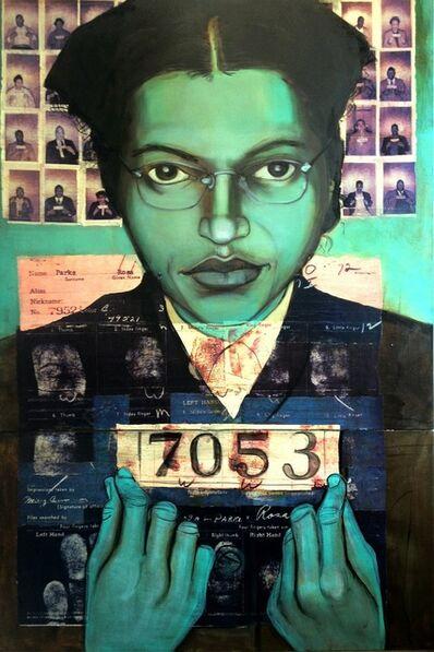 Charlotta Janssen, 'Bus Boycotter Rosa Parks 1956', 2010