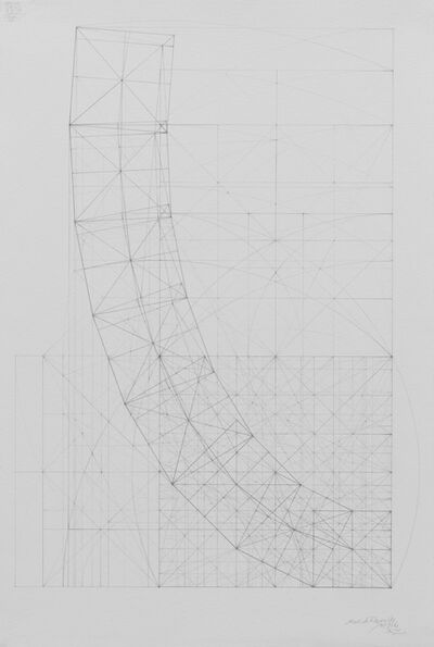 Mark Reynolds, 'Square Series: Curvature of a Harmonic Progression, 8.19.16', 2016