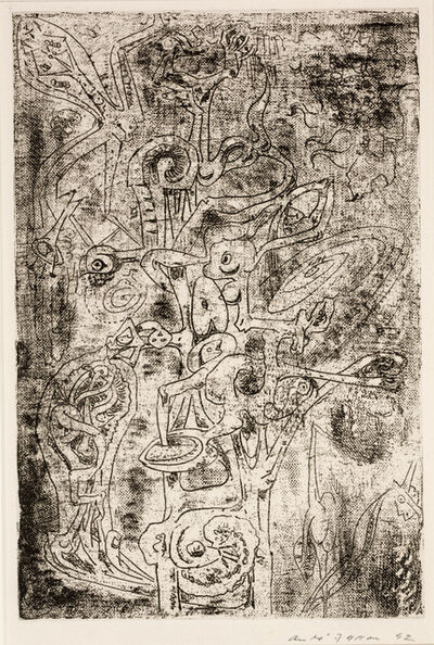 André Masson, 'The Fruits of the Abyss (Les fruits de l abîme)', 1942