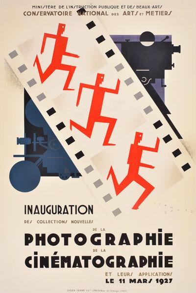 Jean Carlu, 'INAUGURATION DE LA PHOTOGRAPHIE DE LA CINEMATOGRAPHIE', 1927