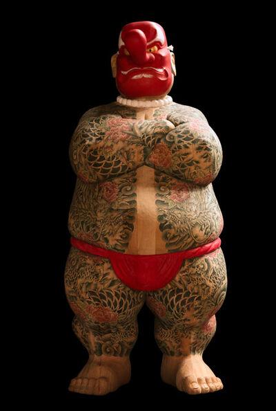 Takeshi HAGURI, 'Otokogi (Chivalry) (Tengu (Long‐nosed goblin mask))', 2018
