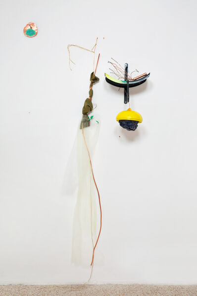 Jessica Stockholder, '# 581 Marked, Clamped & Cloud', 2013