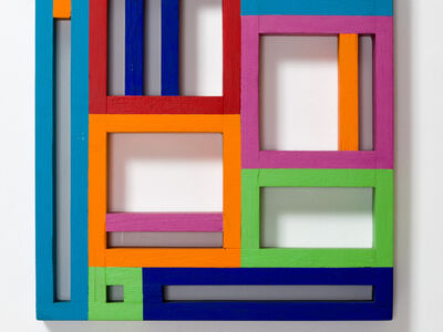 Attila Joláthy, 'Structure and Colour', 1969-1991