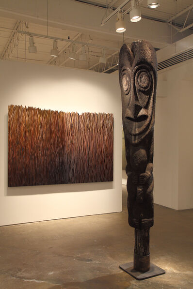 Oceanic Art, 'Ni-Vanuatu Fern Tree Initiation Figure #2', Early to Mid 20th Century